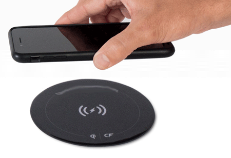 Low Battery Warning No More with OtterBox's OtterSpot Wireless Charging System